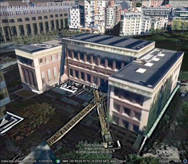 [Bientôt visible sur Google-Earth] Maison de l'Histoire Européenne - Bruxelles. B48