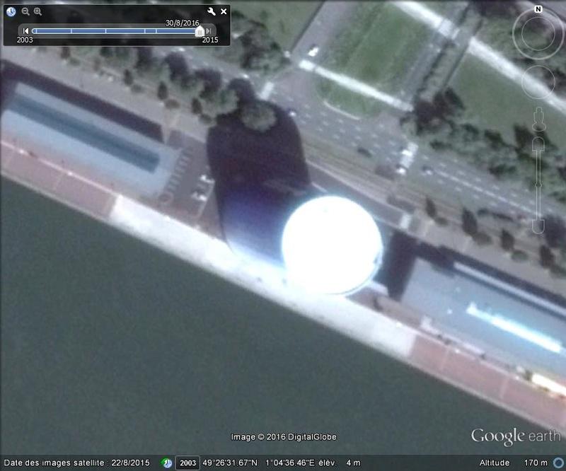 [Enfin visible sur Google Earth] - Future Rotonde Rouen B51