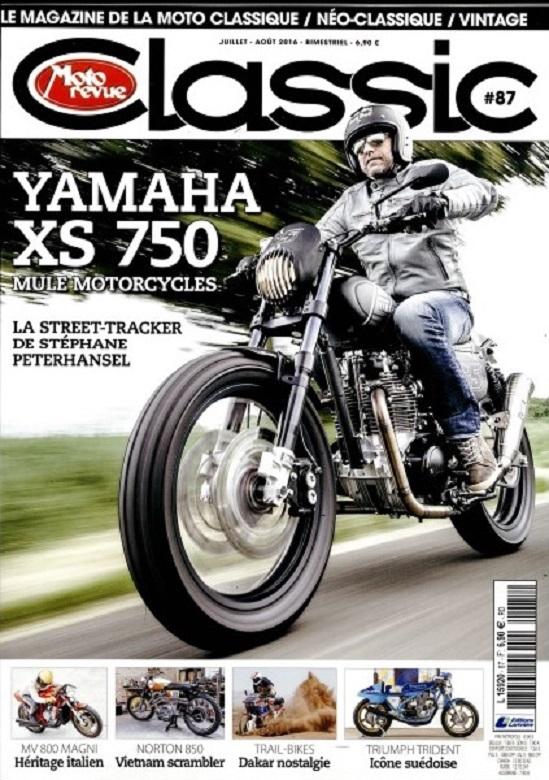 Moto revue Classic:la Street Tracker de Peterhansel.... Mot11