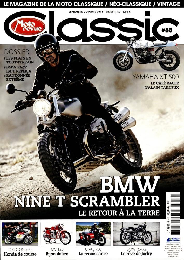 Moto revue classic september:Bm scrambler 2017.... Mot12