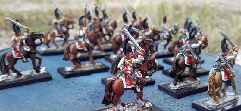 Gardes du corps prussiens 15 mm 20160612