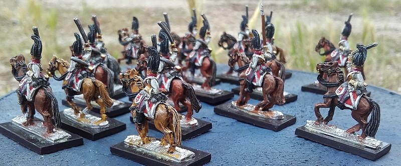 Gardes du corps prussiens 15 mm 20160613
