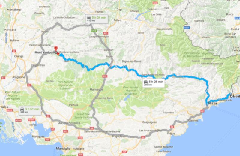 22-23-24-25 LUGLIO 2017  tour del Verdon, Luberon, Mont Ventoux, Ardeche Camargue 110