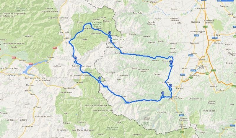 10/7 Tour delle Alpi Francesi, dalla Maddalena al Colle dell'Agnello Giro_l10