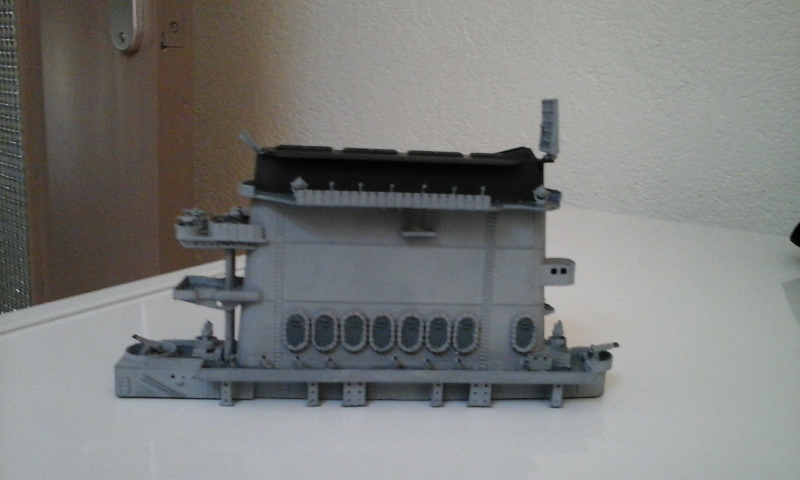 USS CV-2 LEXINGTON  CARRIER 05/1942 au 1/350° de Trumpeter 1510