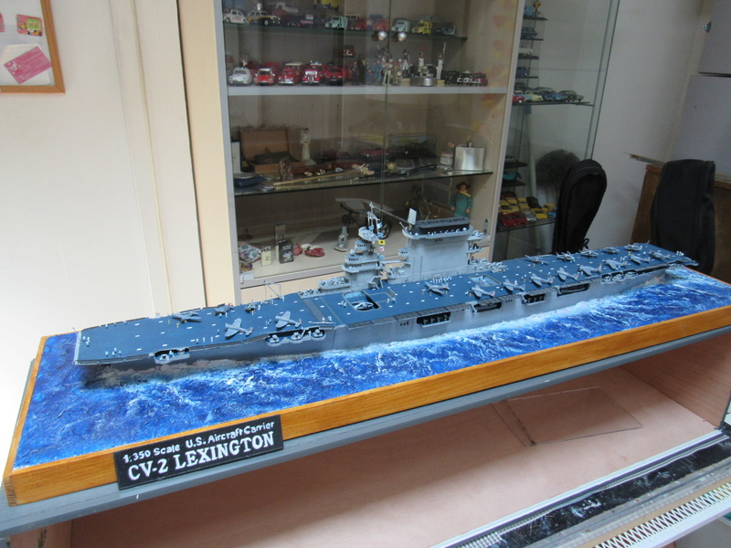 USS CV-2 LEXINGTON  CARRIER 05/1942 au 1/350° de Trumpeter - Page 2 Img_0610
