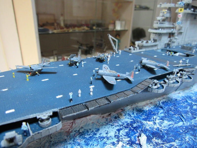 USS CV-2 LEXINGTON  CARRIER 05/1942 au 1/350° de Trumpeter - Page 2 Img_0613