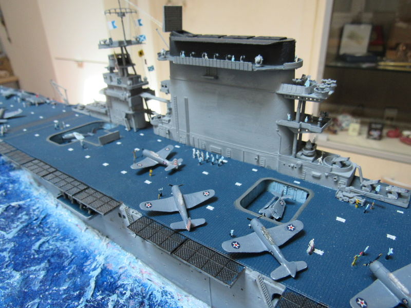 USS CV-2 LEXINGTON  CARRIER 05/1942 au 1/350° de Trumpeter - Page 2 Img_0616