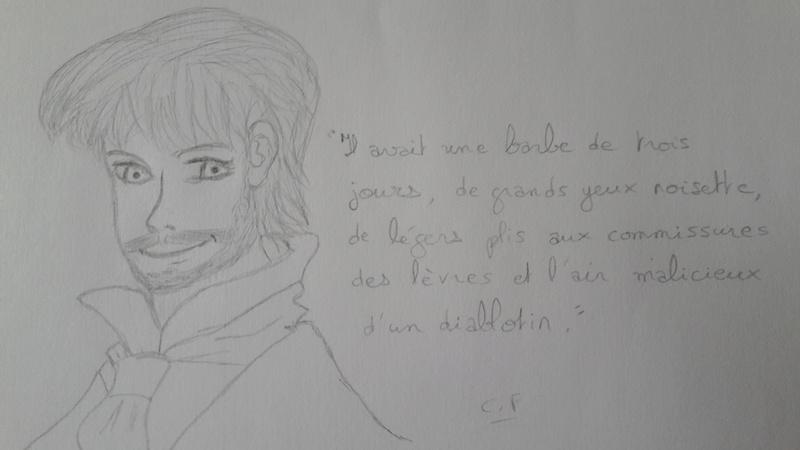 Quand je n'écris pas, je dessine mes personnages... Maxste10