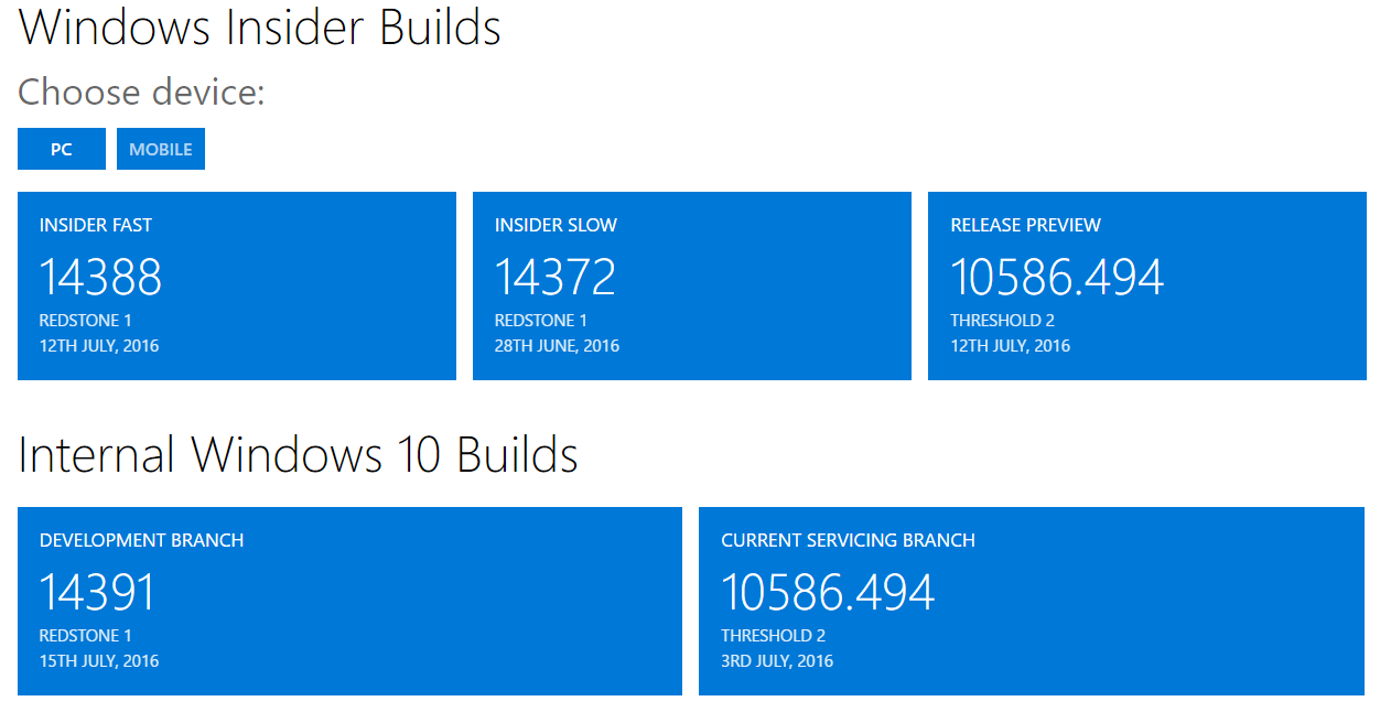 Windows 10 Insiders Builds [RedStone 1] - Page 3 1439110