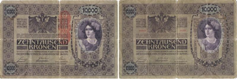 Billet Autriche-Hongrie 1918 Billet15