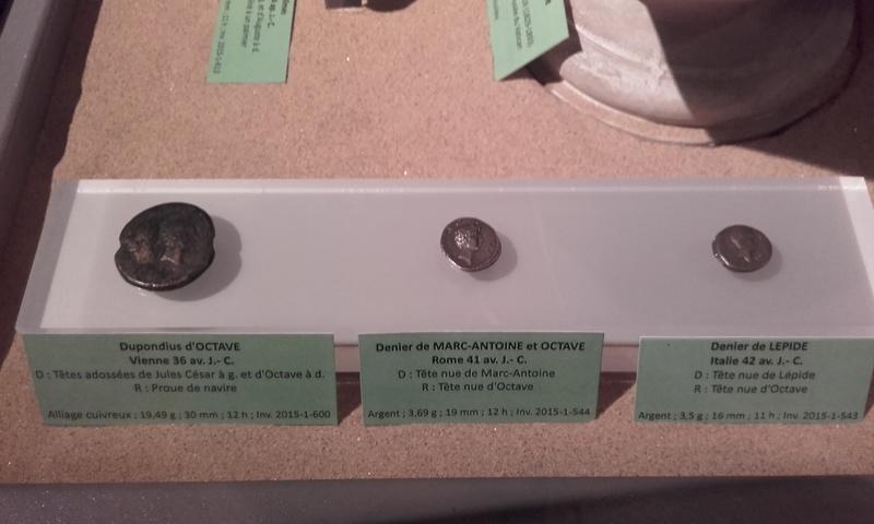 Exposition numismatique au musée d'argentomagus à St Marcel (36) 20160713