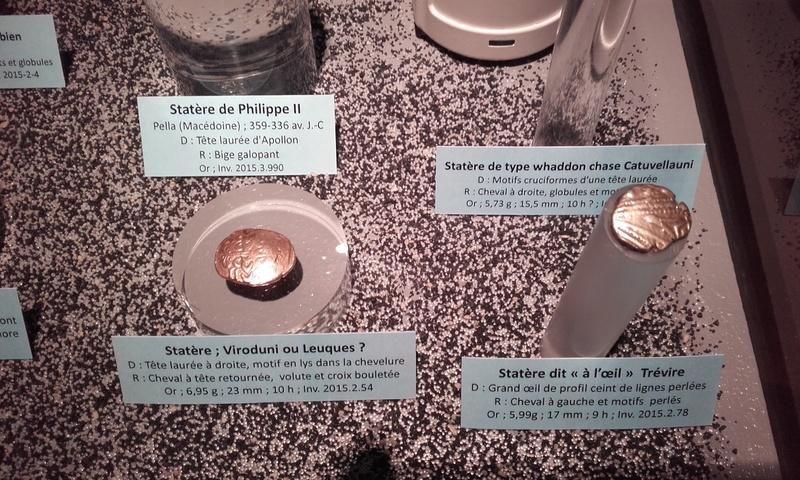 Exposition numismatique au musée d'argentomagus à St Marcel (36) 20160716