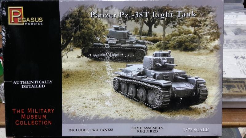 Panzer Pz.-38T   ---1/72----Pegasus    FINI 20160713