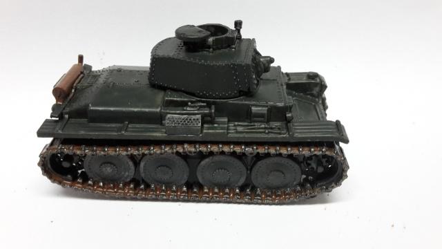 Panzer Pz.-38T   ---1/72----Pegasus    FINI 20160714