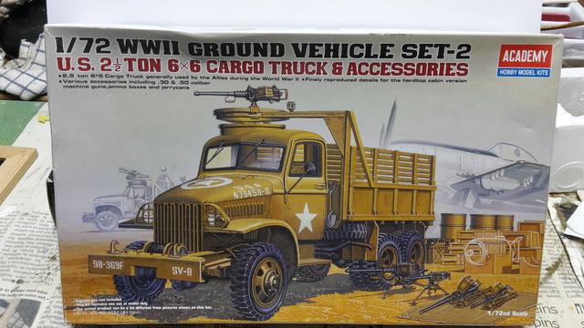 GMC 2,5 ton (Academy)  1/72 20160720