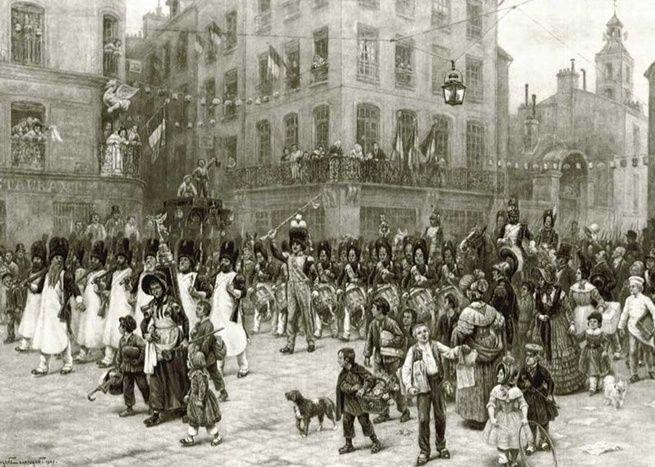 Sabre de Tête de Colonne de la Garde Nationale / Garde Municipale de Paris ? Fete_d10