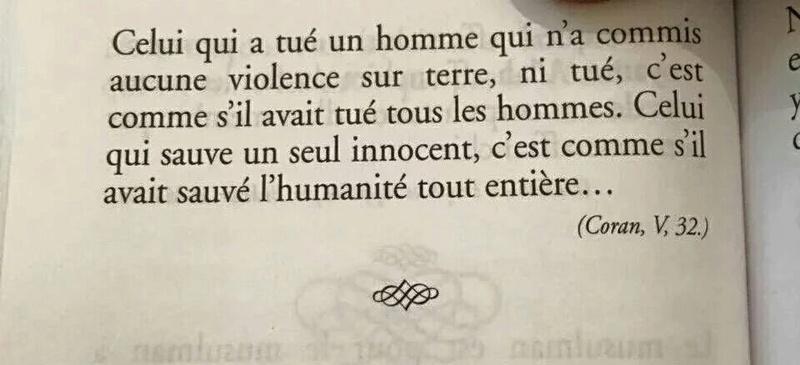 """""""sauver toute l'humanité"""" ou """"qu'ils soient tués, ou crucifiés"""" Coran 5.32-33 Coran_12"""