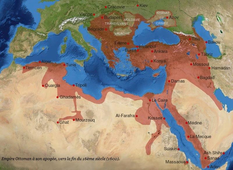 Turquie 14 siècles de civilisation chrétienne balayés par la terreur islamique des Daesh de l'époque Empire10