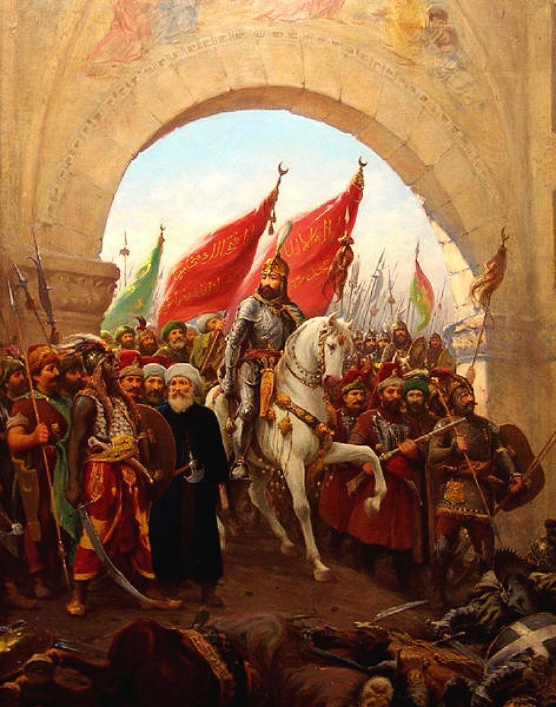 Turquie 14 siècles de civilisation chrétienne balayés par la terreur islamique des Daesh de l'époque Entrye10