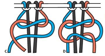 Tuto suspension en macramé Coussi10