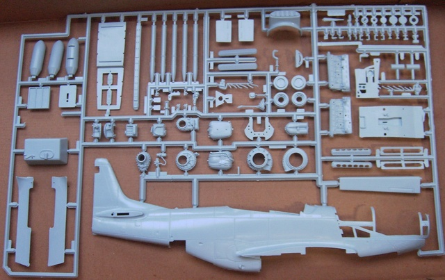 North American Mustang Mk.IVA (P51-K) / Airfix, 1:24 Pict5128