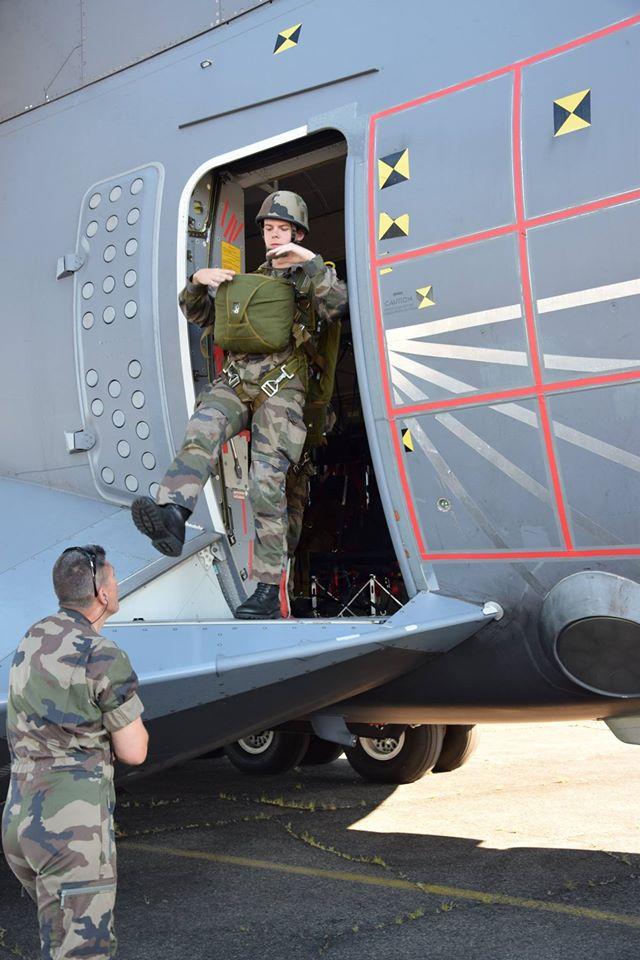 Le 1er R.H.P. de Tarbes expérimente l'A400M d'Aibus A400m710