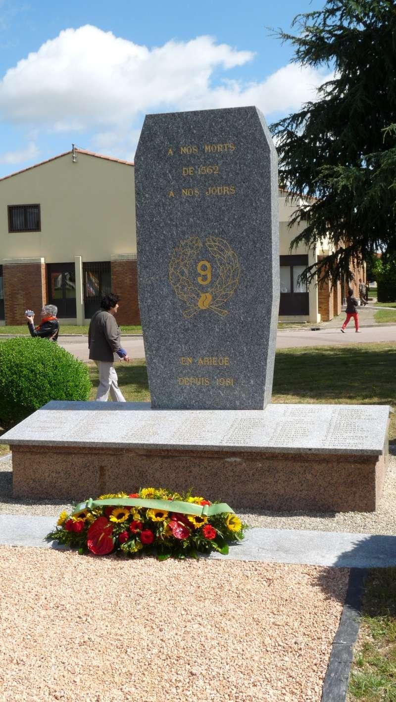 Reportage 60ème anniversaire de la création du 9°R.C.P. à Pamiers P1070962