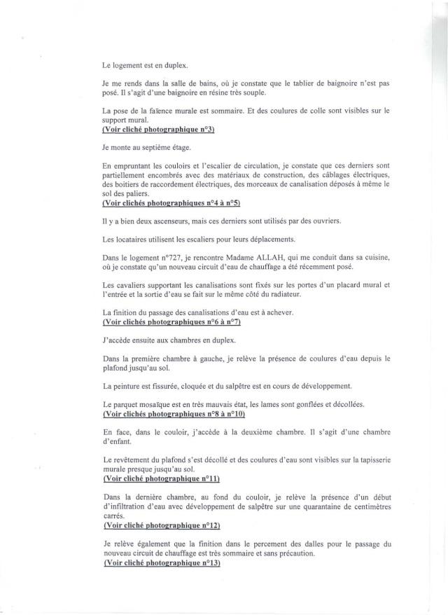 VOICI LE RAPPORT D'HUISSIER Rappor11