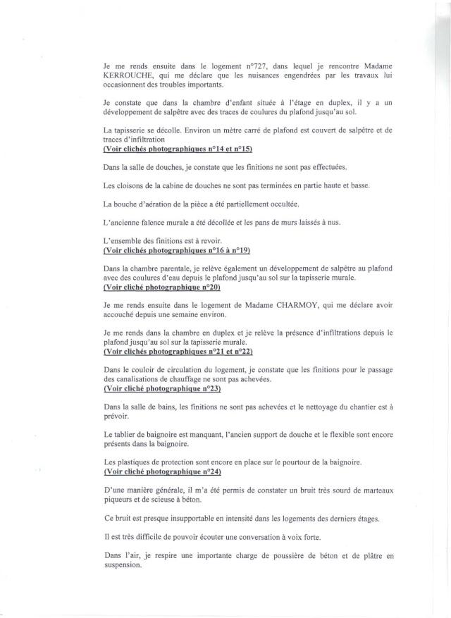 VOICI LE RAPPORT D'HUISSIER Rappor13