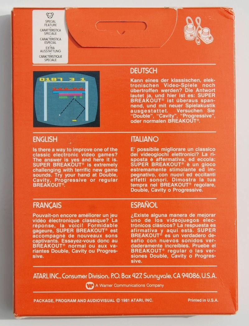 [VDS] Cartouches ATARI 2600 Superb15