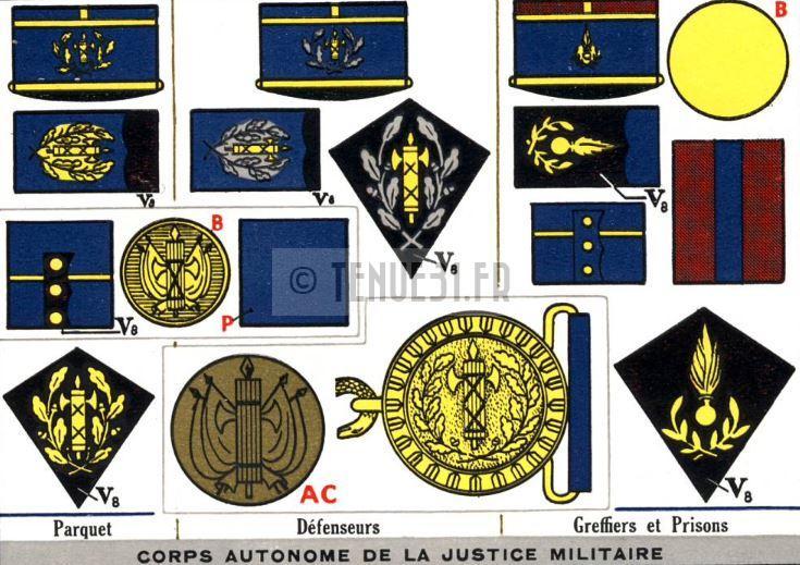 identification epaulettes Corps-10