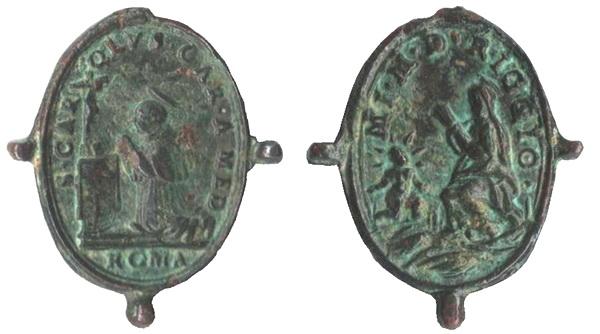 borromeo - Las  MEDALLAS de San CARLOS BORROMEO. SIGLOS XVI- XVII- XVIII. Apuntes iconográficos. -ghiar10