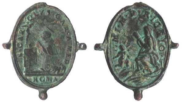 Las  MEDALLAS de San CARLOS BORROMEO. SIGLOS XVI- XVII- XVIII. Apuntes iconográficos. -ghiar10