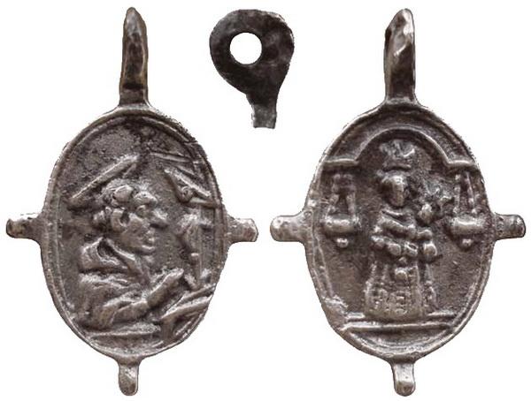Las  MEDALLAS de San CARLOS BORROMEO. SIGLOS XVI- XVII- XVIII. Apuntes iconográficos. 01_lor11