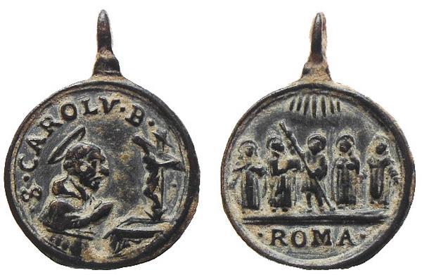 Las  MEDALLAS de San CARLOS BORROMEO. SIGLOS XVI- XVII- XVIII. Apuntes iconográficos. 01avel10