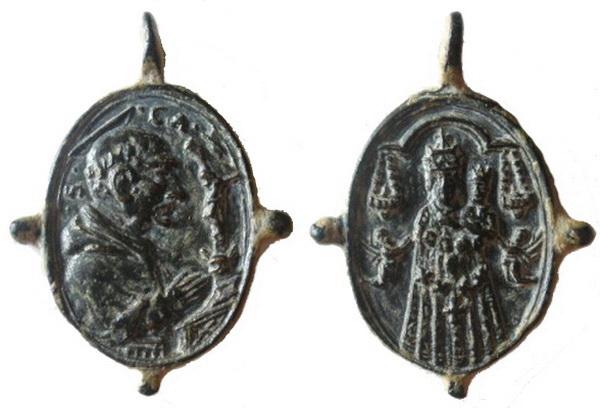 Las  MEDALLAS de San CARLOS BORROMEO. SIGLOS XVI- XVII- XVIII. Apuntes iconográficos. 02_lor10
