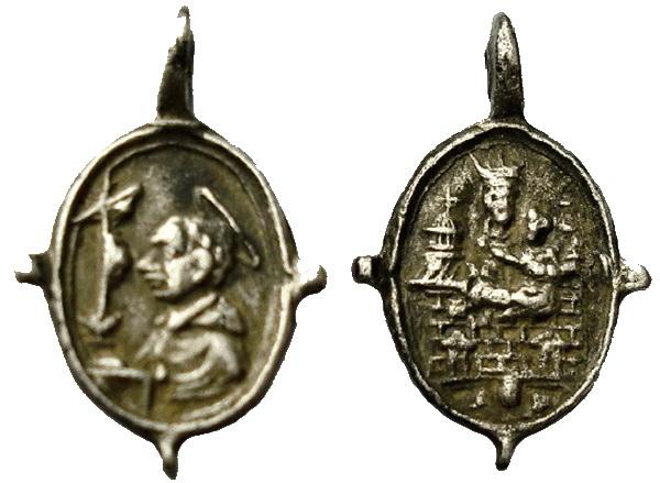 Las  MEDALLAS de San CARLOS BORROMEO. SIGLOS XVI- XVII- XVIII. Apuntes iconográficos. 03_lor10