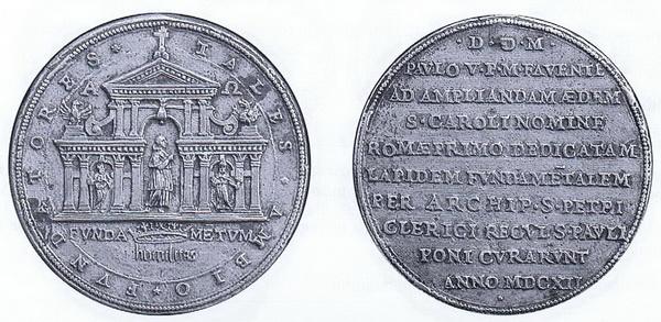 Las  MEDALLAS de San CARLOS BORROMEO. SIGLOS XVI- XVII- XVIII. Apuntes iconográficos. 1060_r10