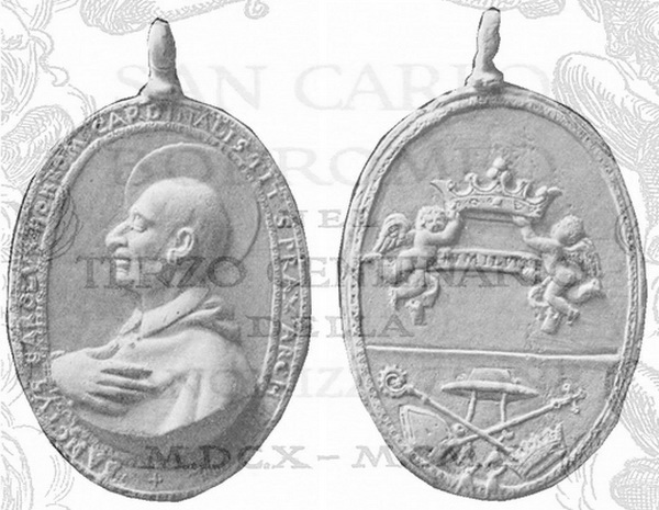 Las  MEDALLAS de San CARLOS BORROMEO. SIGLOS XVI- XVII- XVIII. Apuntes iconográficos. 135_fi10