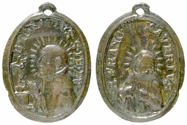 Recopilacion 180 medallas de San Ignacio de Loyola 1619-110