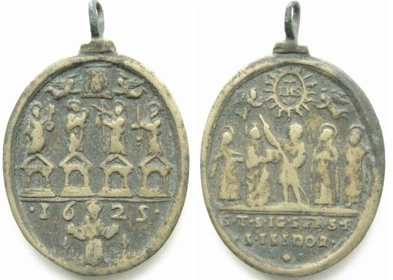 Recopilacion 180 medallas de San Ignacio de Loyola 1625_j12