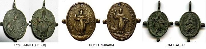 Beato Felipe Benicio / Cristo cargado con la Cruz (R.M. SXVII-O232) 1658_t11