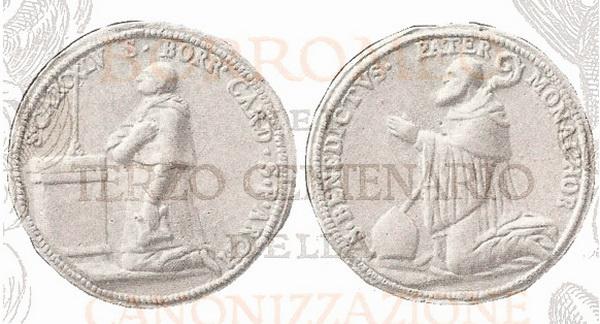 borromeo - Las  MEDALLAS de San CARLOS BORROMEO. SIGLOS XVI- XVII- XVIII. Apuntes iconográficos. 1691110