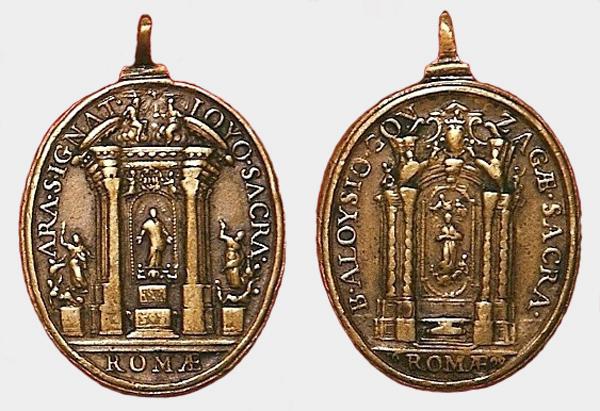 Recopilacion 180 medallas de San Ignacio de Loyola 1699_i10