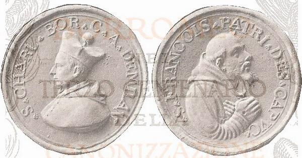 Las  MEDALLAS de San CARLOS BORROMEO. SIGLOS XVI- XVII- XVIII. Apuntes iconográficos. 1901110