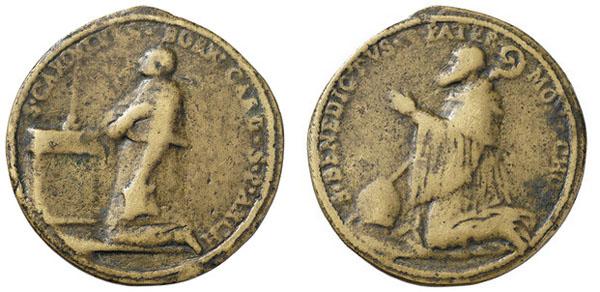 Las  MEDALLAS de San CARLOS BORROMEO. SIGLOS XVI- XVII- XVIII. Apuntes iconográficos. 3337d_10
