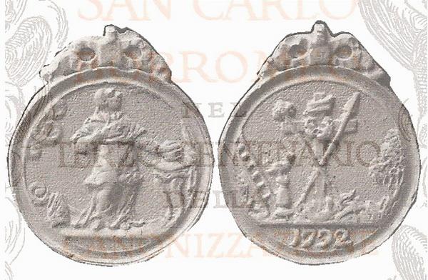 Las  MEDALLAS de San CARLOS BORROMEO. SIGLOS XVI- XVII- XVIII. Apuntes iconográficos. 442_re11