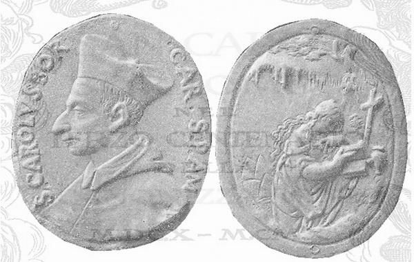 Las  MEDALLAS de San CARLOS BORROMEO. SIGLOS XVI- XVII- XVIII. Apuntes iconográficos. 443_s_11