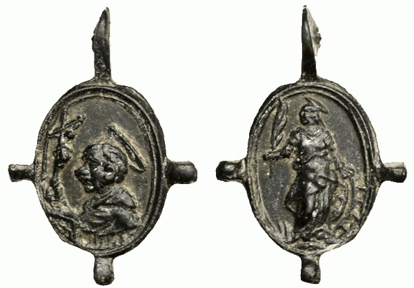 Las  MEDALLAS de San CARLOS BORROMEO. SIGLOS XVI- XVII- XVIII. Apuntes iconográficos. 4_juli10